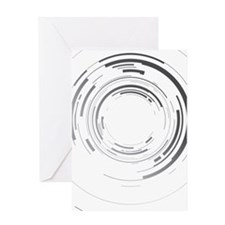 Abstract lens Greeting Card