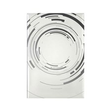 Abstract lens Rectangle Magnet