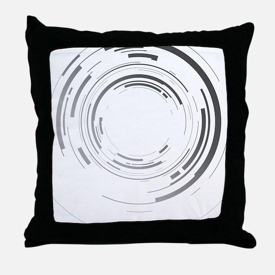 Abstract lens Throw Pillow