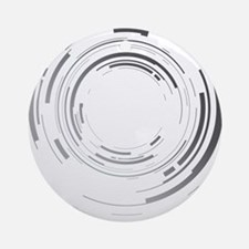 Abstract lens Round Ornament