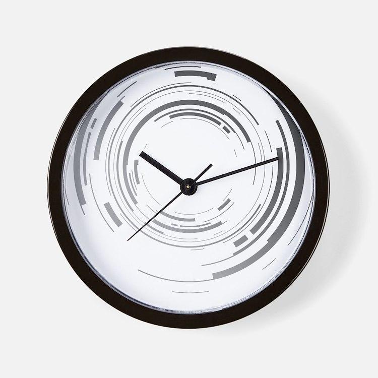 Abstract lens Wall Clock