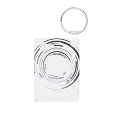 Abstract lens Keychains