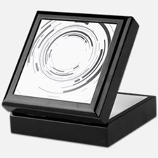 Abstract lens Keepsake Box