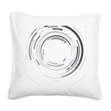 Abstract lens Square Canvas Pillow