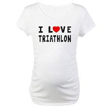 I Love Triathlon Shirt