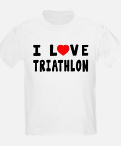 I Love Triathlon T-Shirt