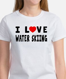 I Love Water Skiing Tee