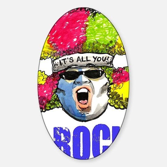 URock SuperFan Sticker (Oval)