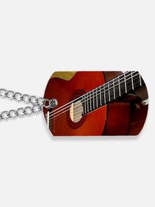 Classic Guitar Dog Tags