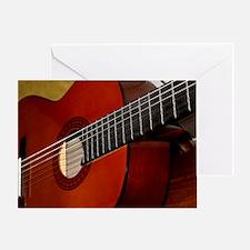 Classic Guitar Greeting Card
