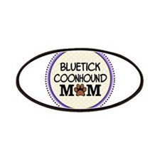 Bluetick Coonhound Dog Mom Patches