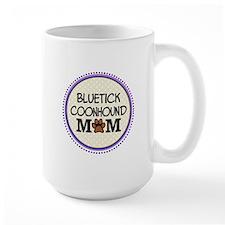 Bluetick Coonhound Dog Mom Mugs