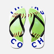 Softball Coach Thank You Unique Gifts Flip Flops