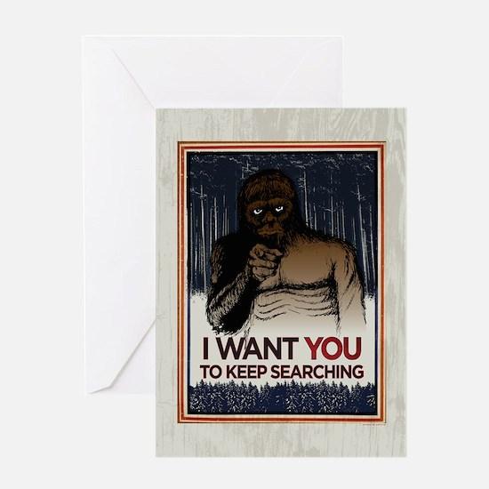 Keep Searching Greeting Card