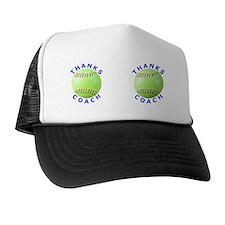 Softball Coach Thank You Gift Mugs Trucker Hat