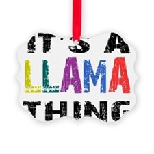 llamathing Ornament