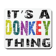 donkeything Mousepad