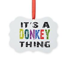 donkeything Ornament