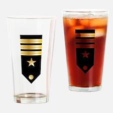 CMDR Board Drinking Glass