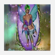 Fantasy Mirror Tile Coaster