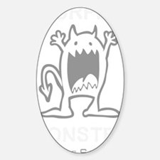 Burpee Monster Decal