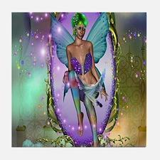 Mirror Fairy Tile Coaster