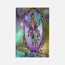 Mirror Fairy Rectangle Magnet