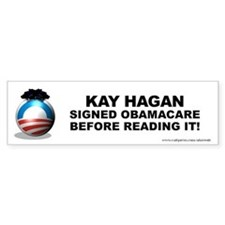 Hagan Signed Bumper Stickers