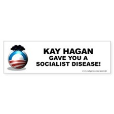 Hagan Gave Bumper Sticker