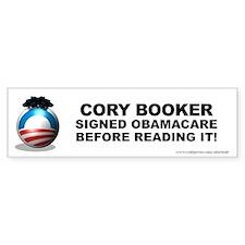 Booker Signed Bumper Bumper Sticker