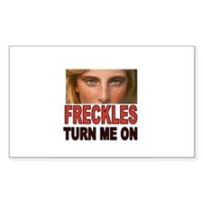 FRECKLES Decal