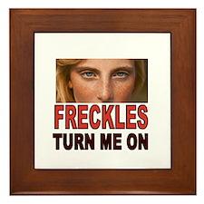 FRECKLES Framed Tile