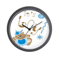 Its A Boy Wall Clock