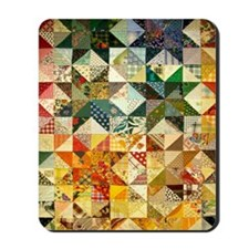 Fun Patchwork Quilt Mousepad