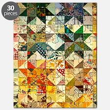 Fun Patchwork Quilt Puzzle