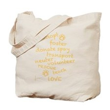 Helping Pets Tote Bag