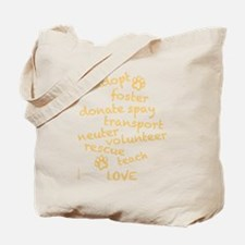 Helping Pets Tote Bag