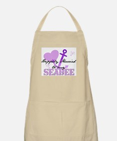 Happily married to my Seabee BBQ Apron