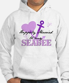 Happily married to my Seabee Hoodie