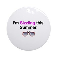 Summertime Sizzle Ornament (Round)