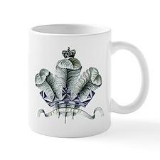 Welsh Ich Dien Emblem Mug
