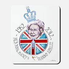 Diamond Jubilee Poster Mousepad