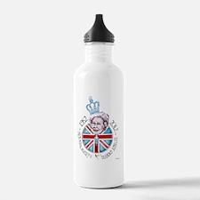 Diamond Jubilee Poster Water Bottle