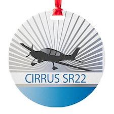 Aircraft Cirrus SR22 Ornament