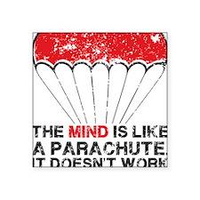 "parachute Square Sticker 3"" x 3"""