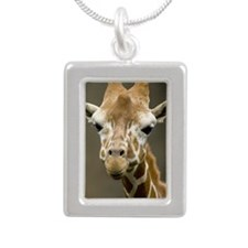 Cute Giraffe, Taiwan, Ta Silver Portrait Necklace