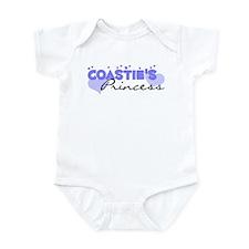 Coastie's Princess Infant Bodysuit