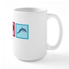 PeaceLoveDolphinswh Mug