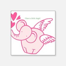 I Have A Little Angel Sticker