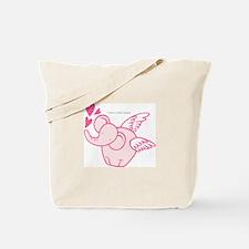 I Have A Little Angel Tote Bag